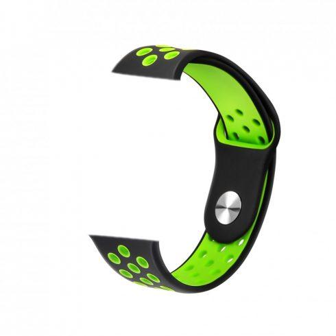 Curea pentru ceas inteligent Safako SWP10 verde-negru