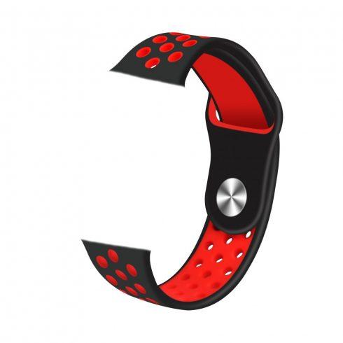 Cureaua pentru ceas inteligent Safako SWP10  roșu-negru
