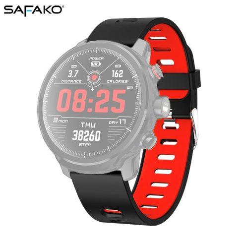 Curea pentru ceas inteligent - Safako SWP50  (Culoare roșu- negru)