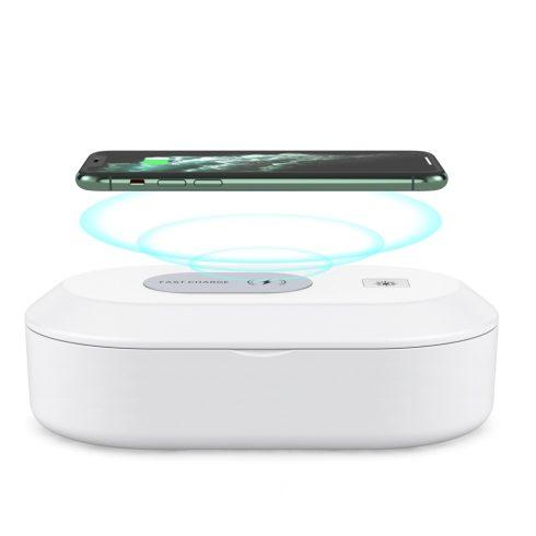 Cutie multifuncțională de dezinfectare cu UV și încărcător rapid pentru telefon, 15W