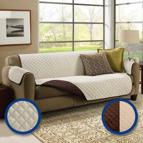 Cuvertură dublă de protecție pentru canapea