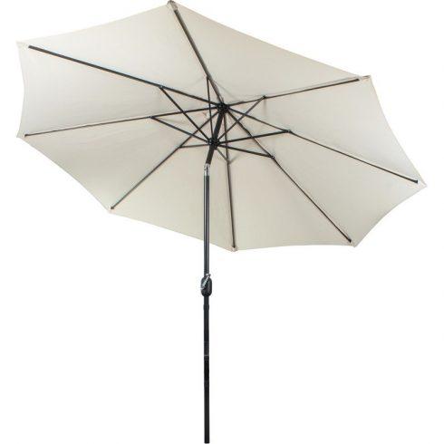 Umbrelă de soare cu cadru metalic, culoare crem
