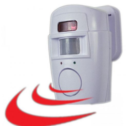 Alarmă cu detector de mișcare cu 2 telecomenzi