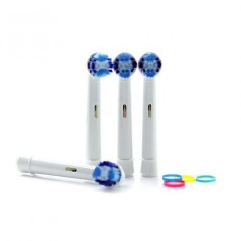 Cap de periuță din 4 bucăți pentru periuța electrică Oral-B