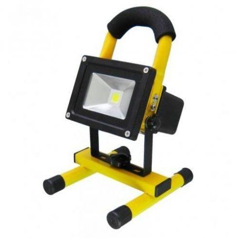Reflector LED portabil cu acumulator, 10 W