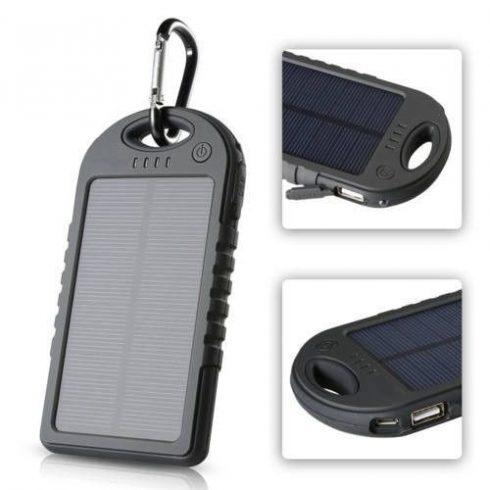 Baterie solară externă, powerbank 3000mAh