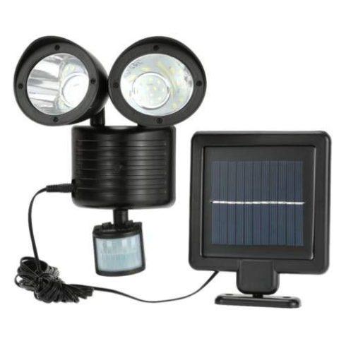 Reflector solar dublu, cu senzor de mișcare