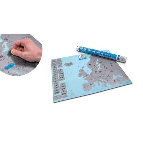 Harta de răzuit a Europei