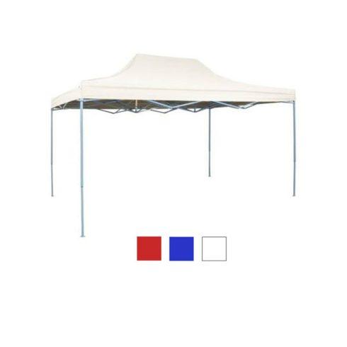 Pavilion pliabil, 3 x 4,5 m, alb