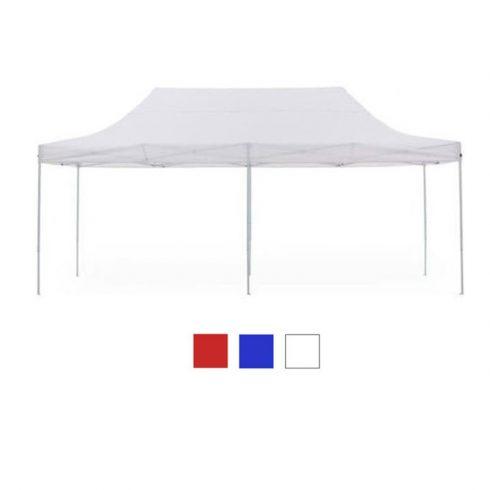 Pavilion pliabil,  3 x 6 m, alb