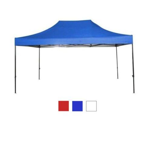 Pavilion 3x4,5m cu geantă husă, albastru