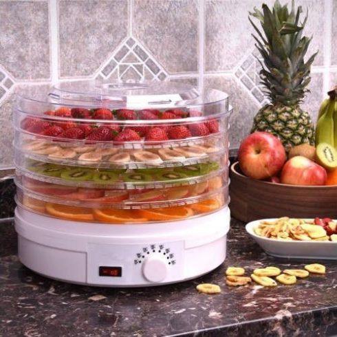 Uscător electric de legume și fructe