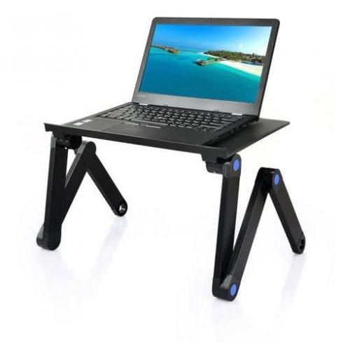 Stand laptop pliabil, multifuncțional