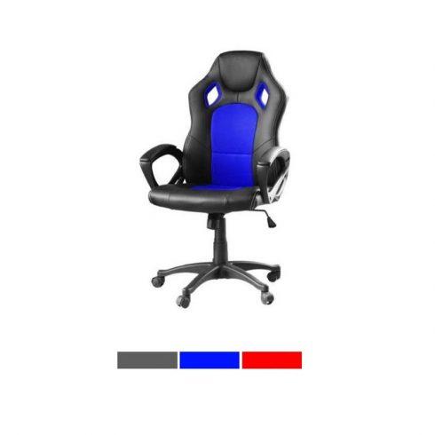 Scaun gaming și birou, albastru