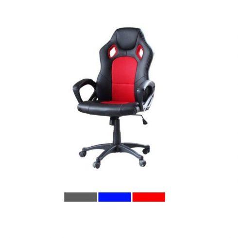 Scaun gaming și birou, roșu