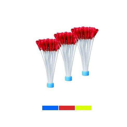 Set 120 buc. baloane tip bombe cu apa, Roșu