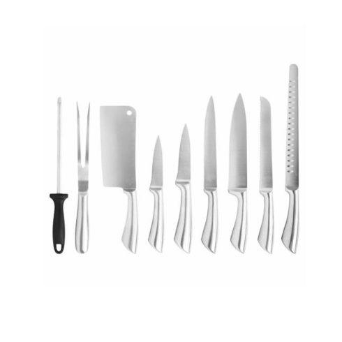 Set cuțite 9 piese cu geantă suport