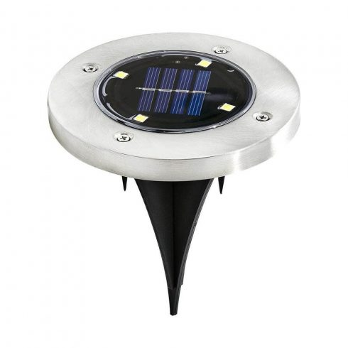 Set 4 buc lampi solare, incorporabile, uz extern