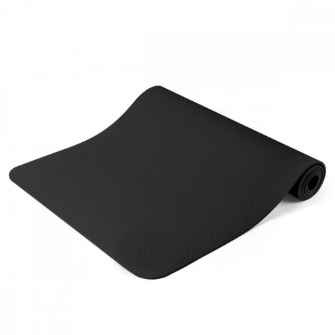 Saltea yoga, cu geantă cadou, 181 x 61 cm, Negru