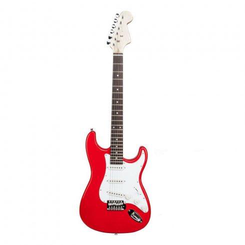 Set de chitară electronică pentru începători, difuzor cadou, Roșu