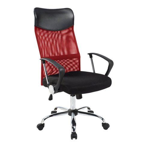 Scaun de birou ergonomic, cu spătar înalt, Roșu