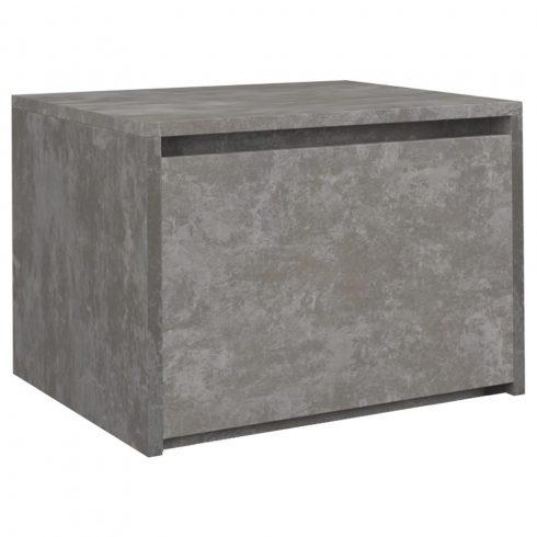 Arosa K1 noptiera, culoare beton