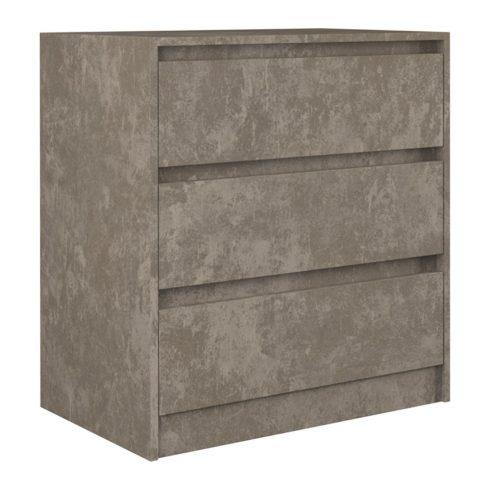 Arosa K3, dulap cu sertare, beton