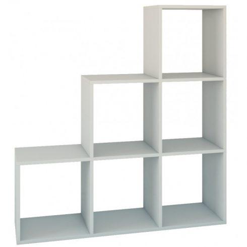 Drohmo Step 3X3, raft perete, alb