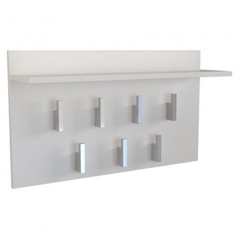 Drohmo 2F, cuier modern, alb mat