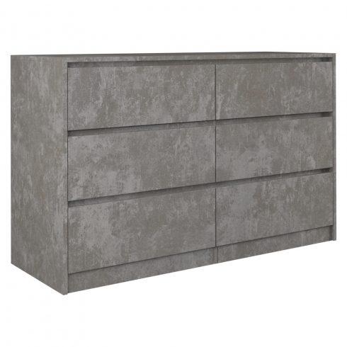 Arosa K120 2X3, comoda, beton