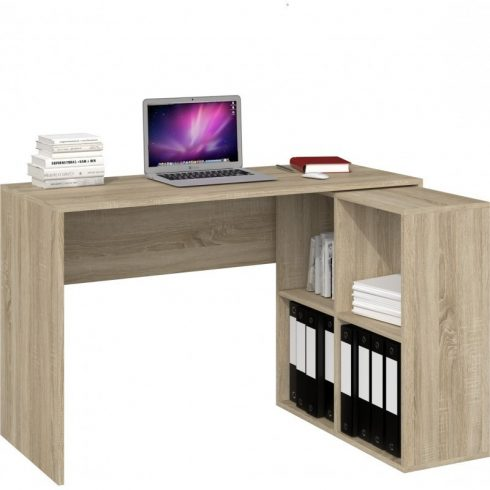 Odell Plus 2X2 birou de colț, 120X50X76, cu stocare, sanomaj