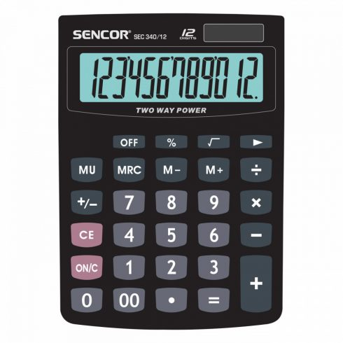 Sencor SEC 340/12 Calculator birou