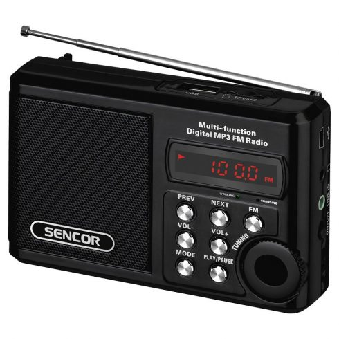 Sencor SRD 215 B radio portabil