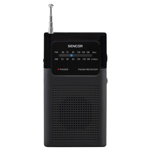 Sencor SRD 1100 B Radio receptor de buzunar