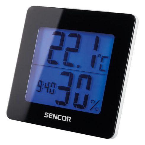 Sencor SWS 1500 B Termometru cu ceas deșteptător