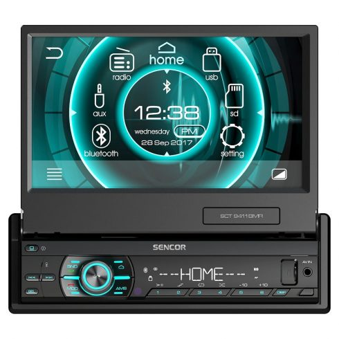Sencor SCT 9411BMR Radio auto cu Bluetooth