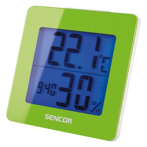Sencor SWS 1500 GN Termometru cu ceas deșteptător