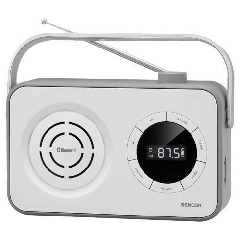 Sencor SRD 3200W Receptor Radio FM, PLL portabil