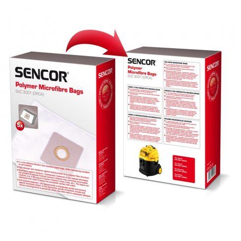 Sencor SVC 3001 saci aspirator microfibre