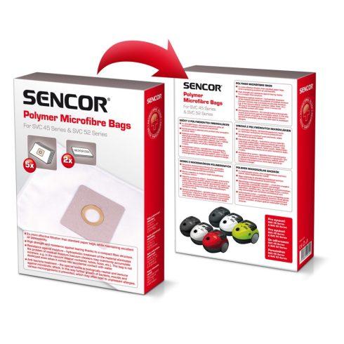 Sencor SVC 45/52 saci aspirator microfibră