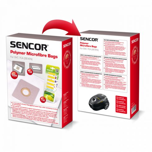 Sencor SVC 7CA sac de hârtie 10 buc + 5 bețe parfumate