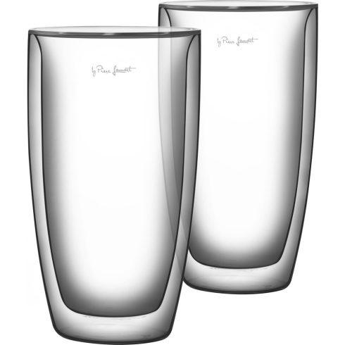Lamart LT9011 set din sticlă pentru café -latte 380ml