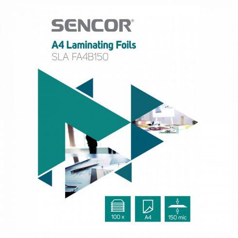 Sencor SLA FA4B150 folie de laminare A4, 2x75 micron, 100 folii/ cutie
