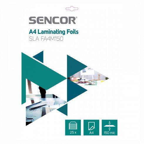 Sencor SLA FA4M150 folie de laminare A4, 2x75 micron, 25 folii/ pachet