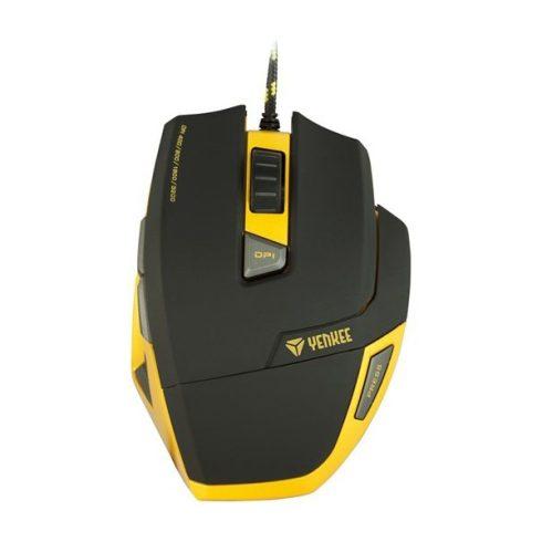 YENKEE YMS 3009 HORNET mouse gamer - negru-galben