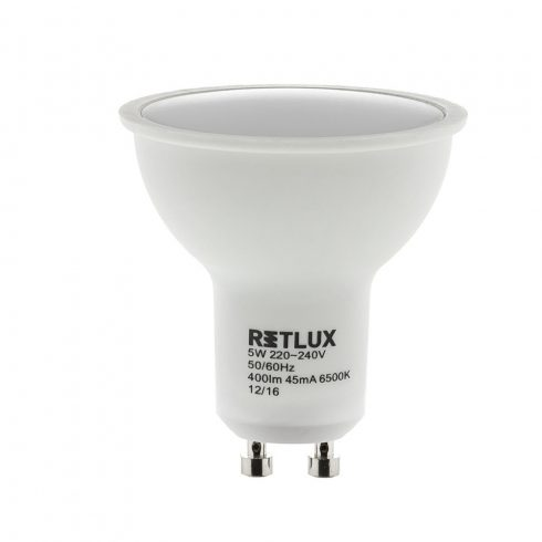 Retlux RLL 257 GU10 5W DL Bec LED  (lumină de zi 6500K)