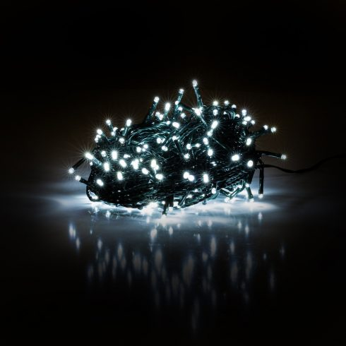 Retlux RXL 201 ghirlandă luminoasă de Crăciun 50 LED 5+5m, alb rece