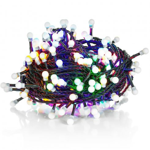 Retlux RXL 221 ghirlandă becuri sferice 100 LED 10+5m,  multicolor