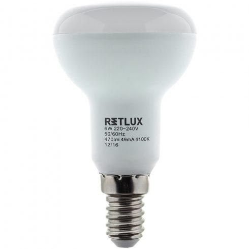 Retlux RLL 307 R50 E14 Spot 9W CW Bec LED( alb rece 4100K)