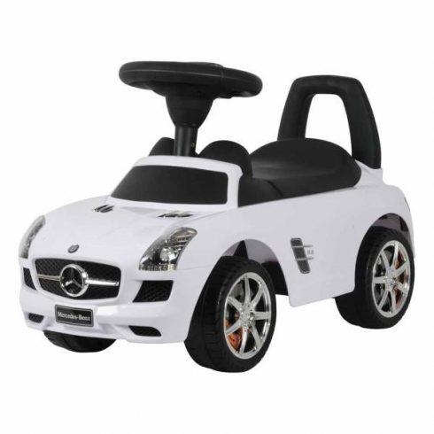 Mercedes SLS, mașină propulsată cu picioarele, de la vârsta de 1,5 anil, alb